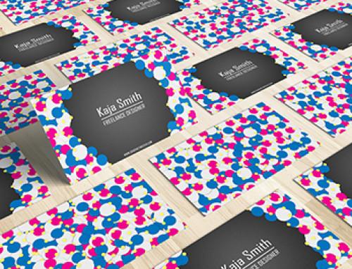Freelance Business Card Template
