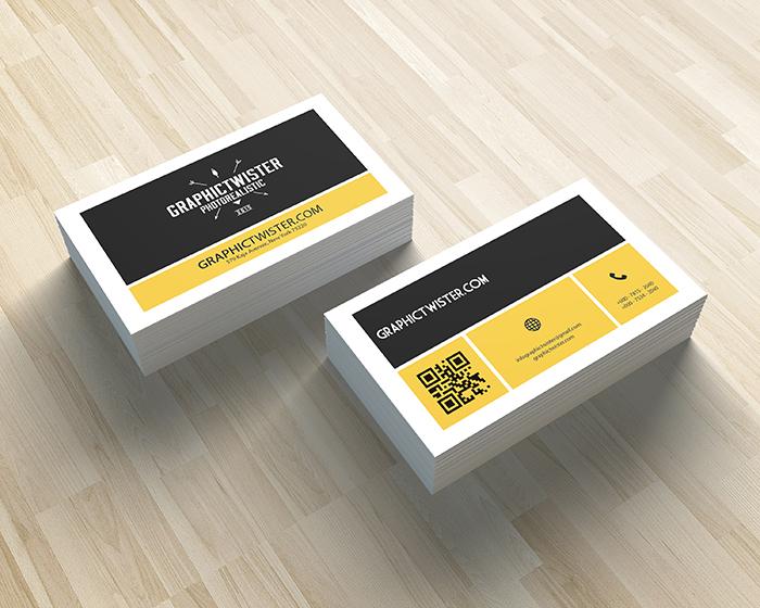 Corporate qr code business card details colourmoves