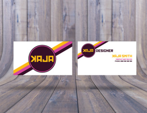 Double Business Card Mockup