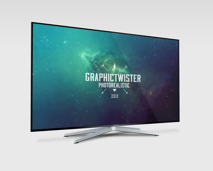 Samsung mockup tv mockup templates images vectors fonts design you can use the mockup to show case your design or presentation on tv screen in diffrent side very high quality add your image inside the smart object and pronofoot35fo Gallery