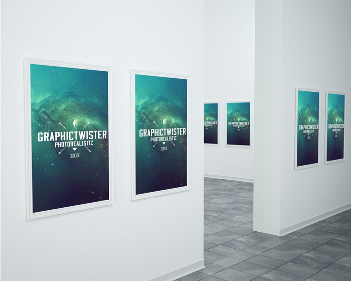 Exhibition Stall Mockup Psd : Museum mockup psd