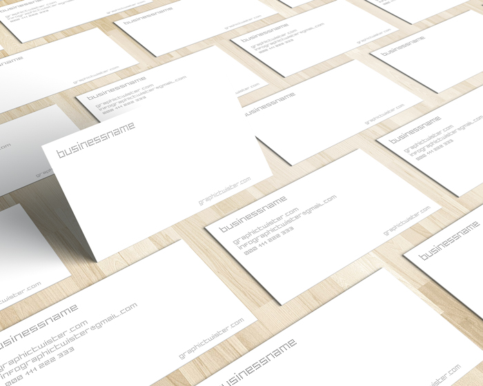 White business card reheart Images