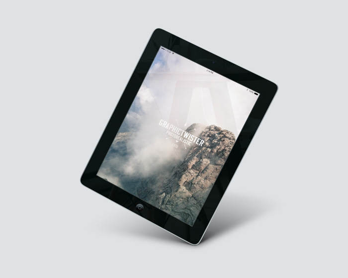 ipad 2 air perspective mockup | mockup templates images vectors, Powerpoint templates
