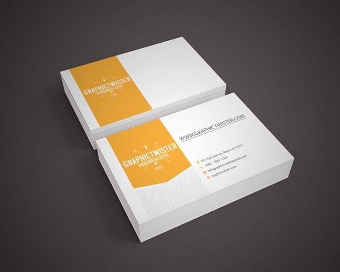 Business card mockup colourmoves