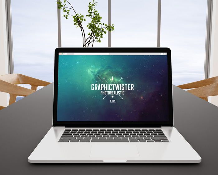 MacBook Pro Office Mockup | Premium and Free Graphic Resources