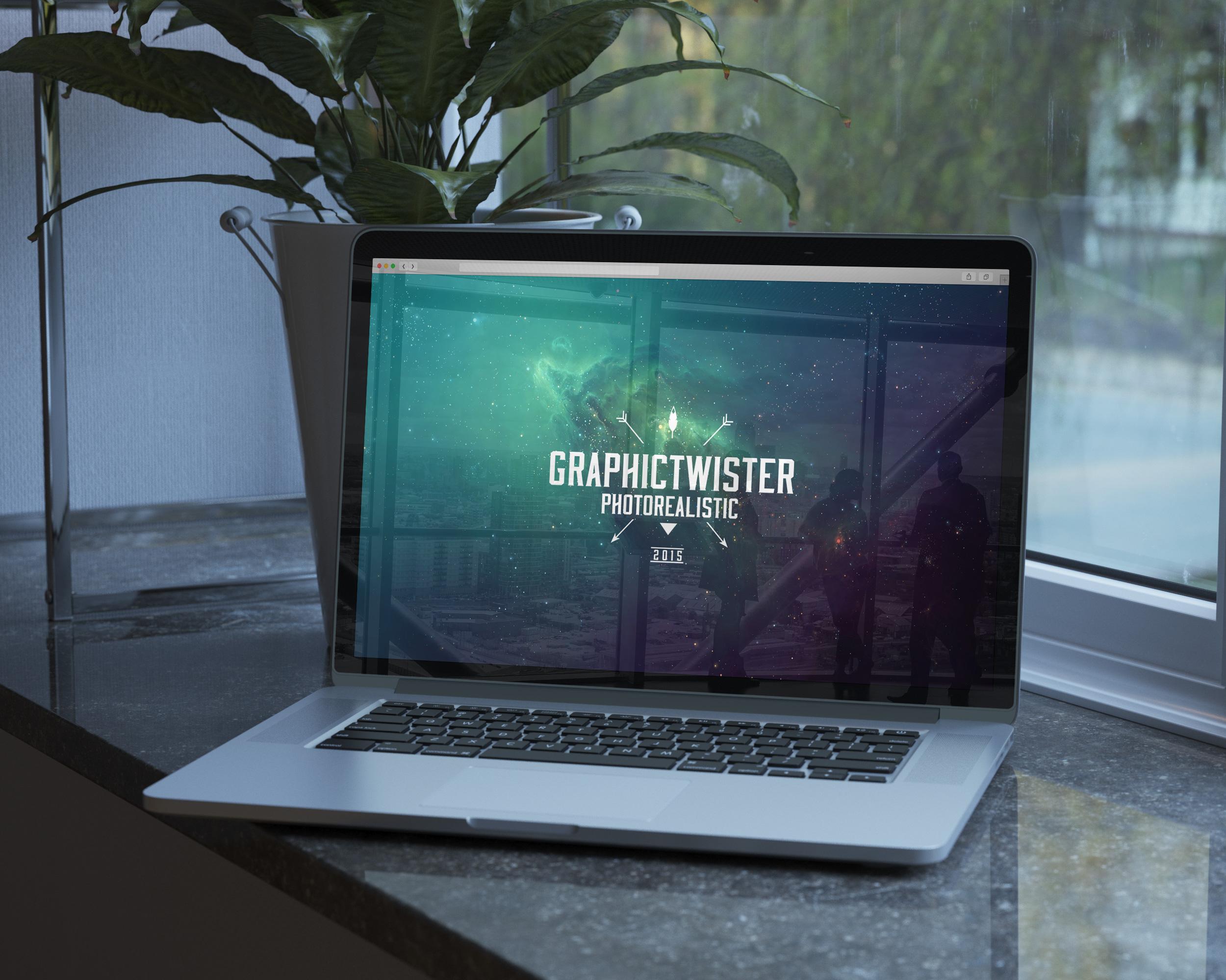 Premium MacBook Pro Mockup | Premium and Free Graphic Resources
