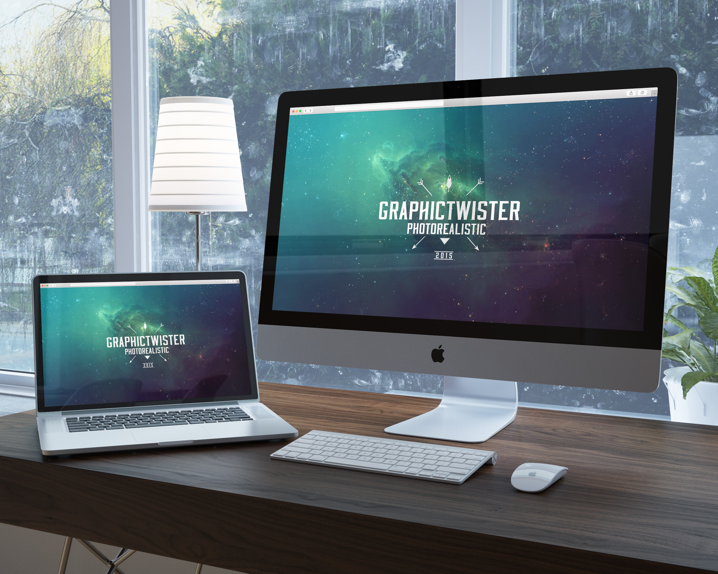 Grphic Design Mock Up Website