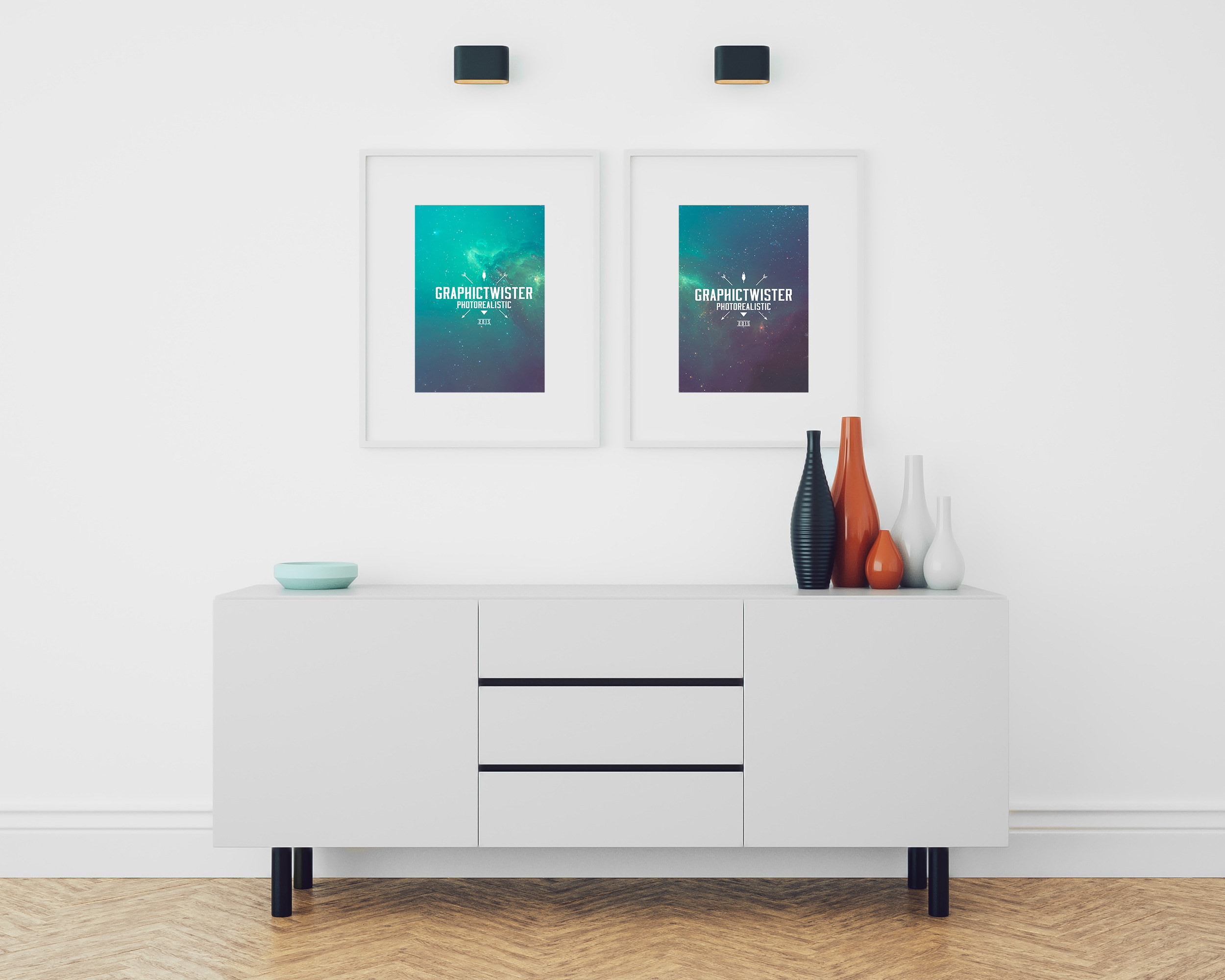 Double Image Frame Mockup | Premium and Free PSD Resources: https://graphictwister.com/double-image-frame-mockup