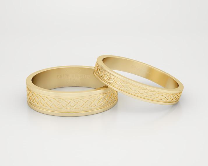 Gold Ring Mockup