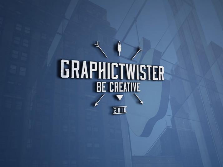 3d logo mockup mockup templates images vectors fonts design