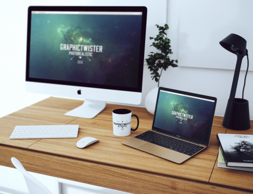 Simple Workspace Mockup