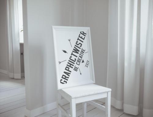 White Clasic Poster Frame