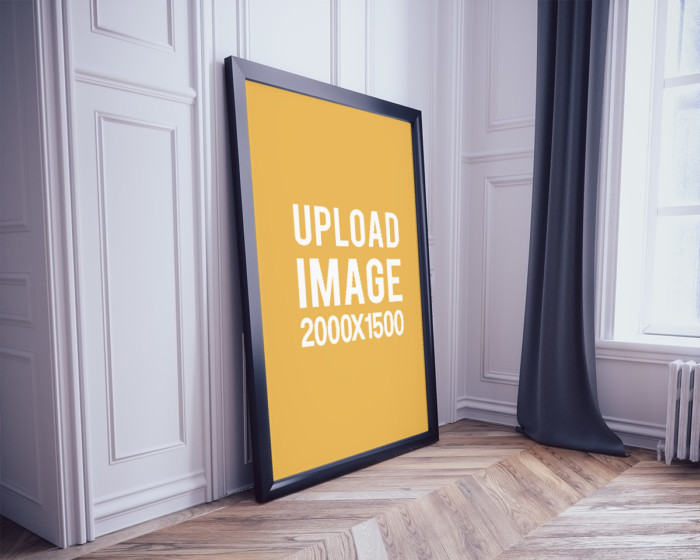 classic-poster-frame-mockup-on-the-floor