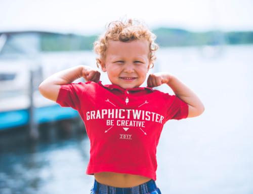 Child t-shirt Mockup