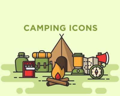Camping-IconsM