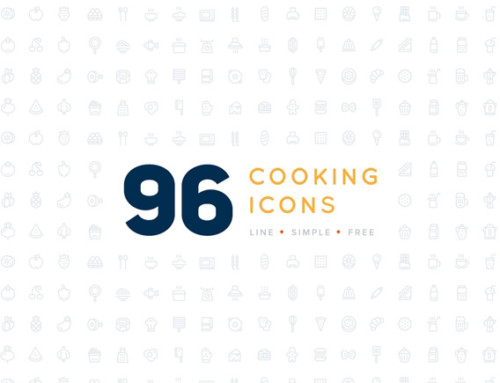 96 Cooking Icons