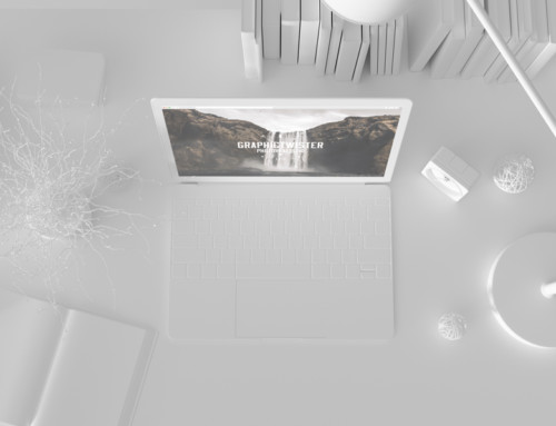 White Workspace Mockup