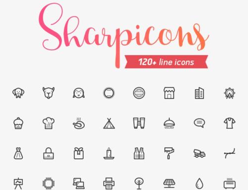 120 Line Vectros Icons