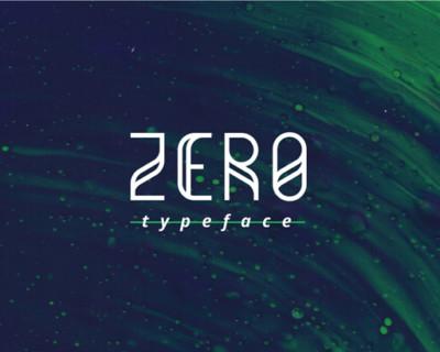 Zero-TypefaceM