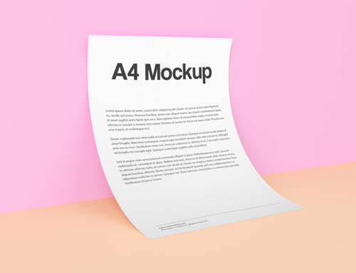 A4 Mockup