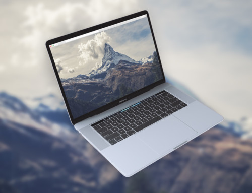 MacBook Background Mockup