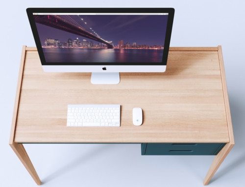 Studio Workspace Mockup