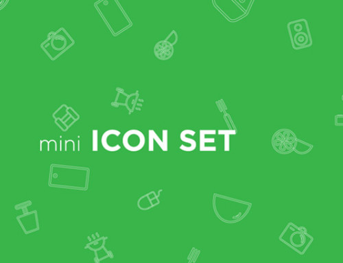 Mini House Icon Set