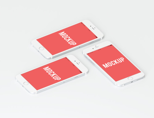 Triple iphone Mockup