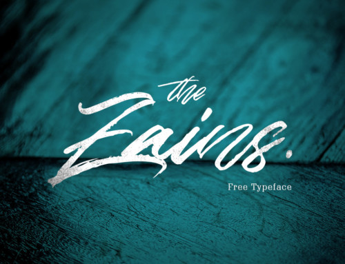 The Zains – Free Font