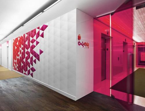 Office Floor Wall Mockup