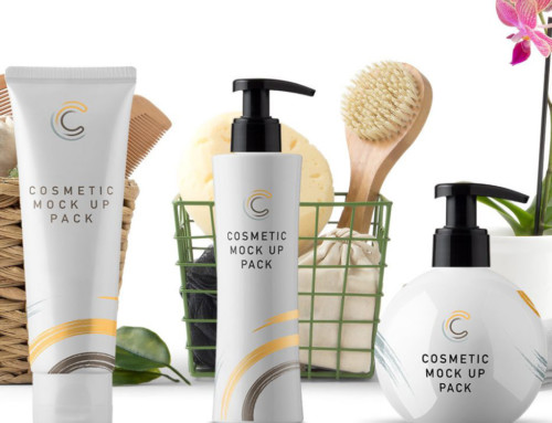 Collection of Cosmetics Packaging Mockups