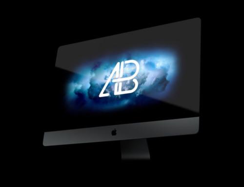 iMac Pro Perspective Mockup