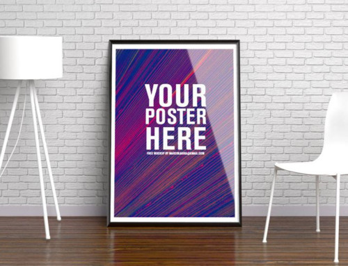 Stylish Poster Presentation Mockup