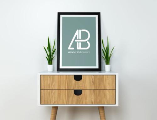 Modern Poster Presentation Mockup