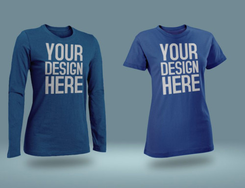 Male and female T-Shirt Mockup