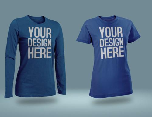 Male and female T-Shirt Mockup