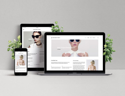 Responsive Web Design Showcase Mockup